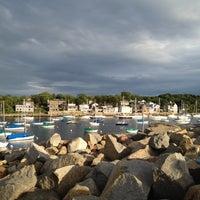 Photo taken at Rockport Harbor by Tom C. on 6/26/2012