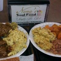 Photo taken at Nana's Soul Food Kitchen by Alicia S. on 3/22/2012