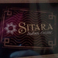 Photo taken at Sitara Indian Restaurant by Michael I. on 5/23/2012
