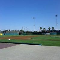 Photo taken at Stockton Ballpark by Amanda P. on 9/4/2012