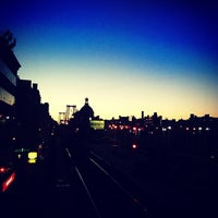 Photo taken at MTA Subway - Marcy Ave (J/M/Z) by Adam on 4/6/2012