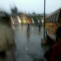 Photo taken at Private Bus Stand by Anto D. on 4/26/2012