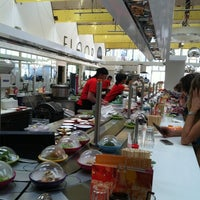 Photo taken at YO! Sushi by Pumm T. on 4/17/2012