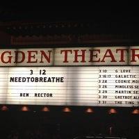3/13/2012 tarihinde Lindsayziyaretçi tarafından Ogden Theatre'de çekilen fotoğraf