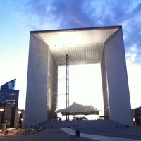 Photo taken at Grande Arche de la Défense by Krisztian V. on 5/12/2012