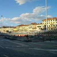 Photo taken at Piazza Mercatale by Jonny L. on 8/31/2012