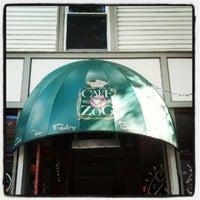 Photo taken at Café Zog by Robbie C. on 6/23/2012