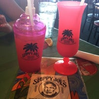 Photo taken at Sloppy Joe's On The Beach by Brittany C. on 8/12/2012