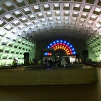 Photo taken at Gallery Place - Chinatown Metro Station by Lauren D. on 4/20/2012