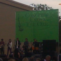 Photo taken at Concerts Under The Oak by JohnnyAbsinthe on 6/16/2012