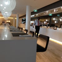 Photo taken at Qantas Business Lounge by Amer S. on 9/11/2012