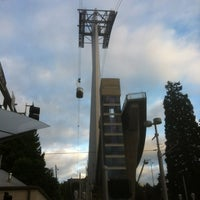 Photo taken at Portland Aerial Tram - Lower Terminal by Towner B. on 6/13/2012