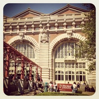 Photo taken at Ellis Island by Megan L. on 5/19/2012