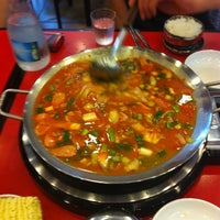 Photo taken at 놀부 부대찌개 & 철판구이 by jace s. on 8/16/2012