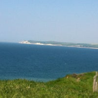 Photo taken at Cap Gris Nez by Little F. on 5/27/2012