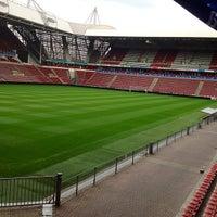 Photo taken at Philips Stadium by Руслан А. on 8/28/2012