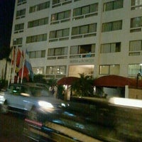 Photo taken at Suites del Bosque Lima Hotel by Luis H. on 4/24/2012
