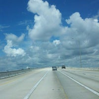 Photo taken at Henry Holland Buckman Bridge by Tammy K. on 7/18/2012