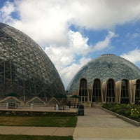 Photo taken at Mitchell Park Horticultural Conservatory (The Domes) by Becca S. on 7/27/2012