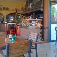 Photo taken at Airport Cafe - Orologas by Manolis K. on 6/30/2012