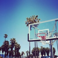Photo taken at Venice Beach Basketball Courts by OG on 6/5/2012