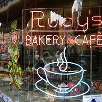 Photo taken at Rudy's Bakery & Café by Wonderwoman A. on 3/17/2012