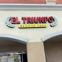 Photo taken at Taqueria El Triunfo by Jeffrey S. on 2/11/2012