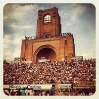 Photo taken at Stadio Renato Dall'Ara by Silvia S. on 6/26/2012