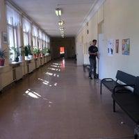 Photo taken at Пироговская школа by Anya P. on 3/16/2012