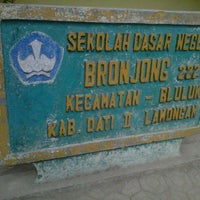 Photo taken at SDN BRONJONG by Sukmo C. on 7/11/2012