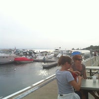 Photo taken at Dockers Waterfront Restaurant & Bar by Lezlie W. on 9/2/2012