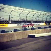 Photo taken at Richmond International Raceway by Eric R. on 9/8/2012