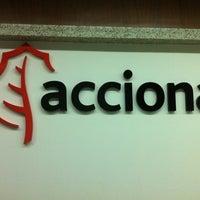 Photo taken at Acciona Infraestruturas by fgp on 3/3/2012