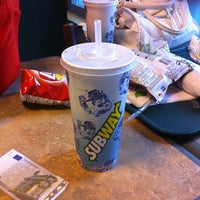 Photo taken at Subway by Nea H. on 7/20/2012