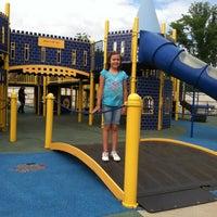 Photo taken at Zachary's Playground - Hawk Ridge Park by Jessica M. on 6/10/2012