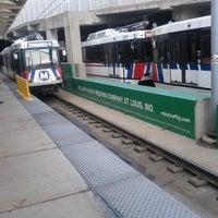 Photo taken at MetroLink - Stadium Station by Chris on 9/5/2012