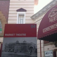 Photo taken at Market Theatre by Mark S. on 2/18/2012