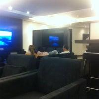 Photo taken at MasterCard Black Lounge by Pablo D. on 4/6/2012