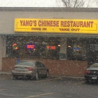 Photo taken at Yang's Chinese Restaurant by mark k. on 2/13/2012