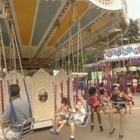 Photo taken at Victorian Gardens Amusement Park by Kissy T. on 7/13/2012