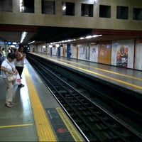 Photo taken at MetrôRio - Estação Carioca by Claudio G. on 8/11/2012