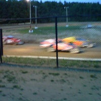 Photo taken at Albany-Saratoga Speedway by Amanda C. on 9/7/2012