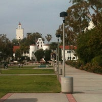 Photo taken at San Diego State University (SDSU) by Cristina S. on 3/24/2012