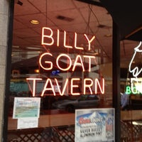 Photo taken at Billy Goat Tavern & Grill by Ned W. on 8/7/2012