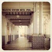 Photo taken at KTM Station Ipoh by Johan Johari M. on 6/13/2012