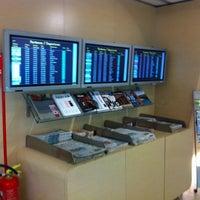 """Photo taken at Alitalia Freccia Alata Lounge """"Bramante"""" by Pieter D. on 8/16/2012"""