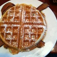Photo taken at Lulu Belle's Pancake House by Melissa W. on 5/11/2012
