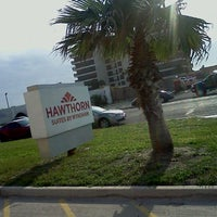 Photo taken at Hawthorn Suites Padre Island Corpus Christi by Andie R. on 3/16/2012