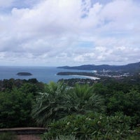 Photo taken at Karon View Point by Win on 5/2/2012