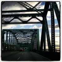 Photo taken at Interstate Bridge by Ashley B. on 6/6/2012